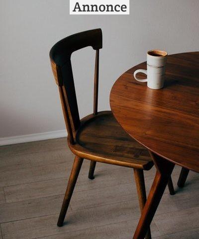 Spisebordet er familiens samlingspunkt