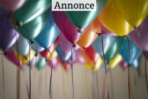 Ingen fødselsdag uden fødselsdagsboller, kage og flag